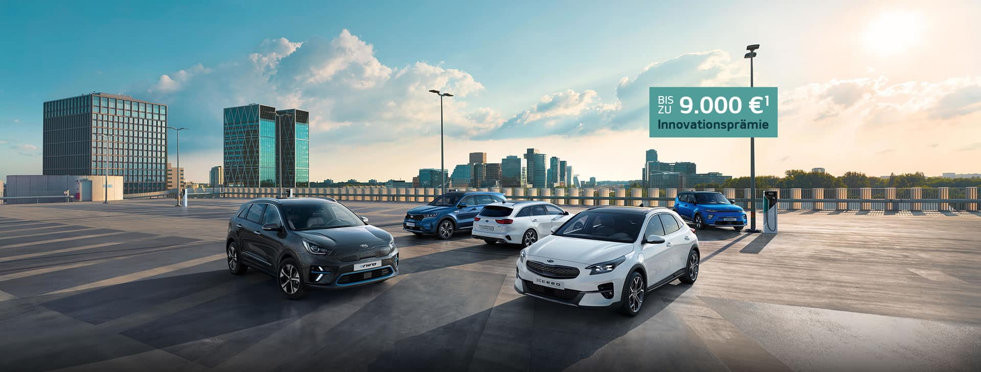 Discover Kia's range of Electrified models.